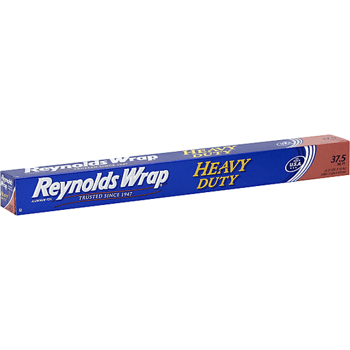 REYNOLDS ALUMINUM FOIL, HEAVY DUTY, 37.5 SQUARE FEET