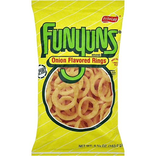 FUNYUNS ONION FLAVORED RINGS 5.75oz