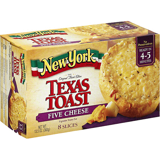 NEW YORK BAKERY TEXAS TOAST, THE ORIGINAL, FIVE CHEESE 13.5