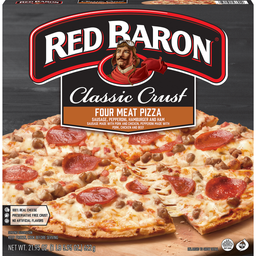RED BARON 4 MEAT PIZZA