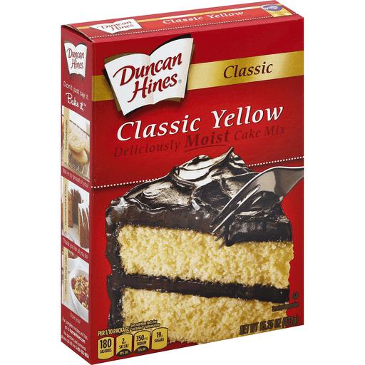 DUN H CAKE MIX CLSSC YLW