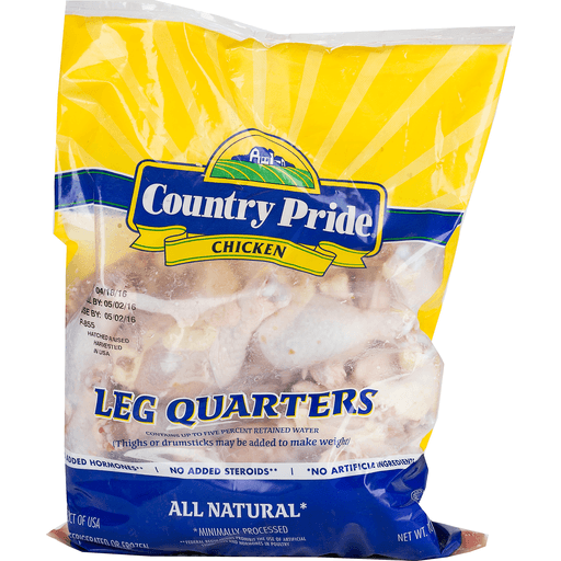 COUNTRY PRIDE CHICKEN LEG QUARTERS 10 LB