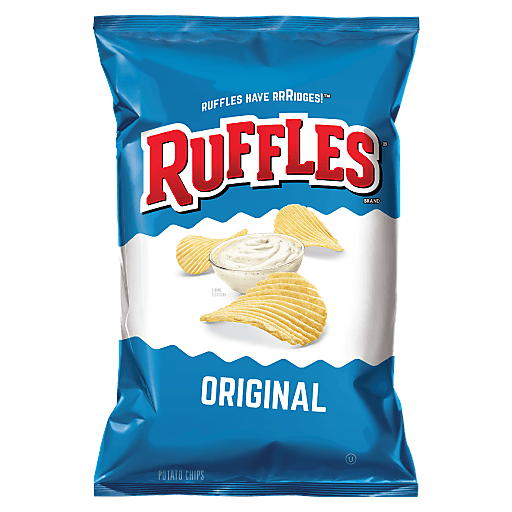 RUFFLES ORIGINAL POTATO CHIPS 15.OZ